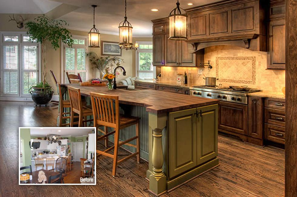 french country gourmet kitchen - Kitchen Gourment