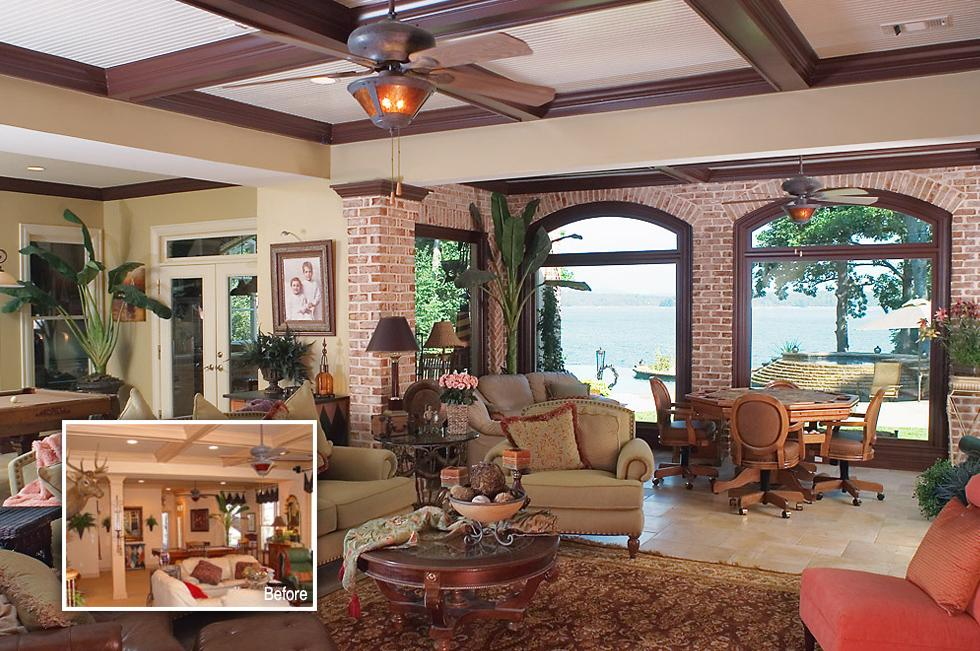 Basement Makeover With Cabana Totally Dependable