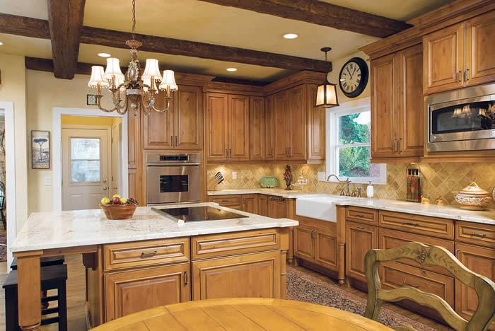 French country upscale kitchen totally dependable for Cal s country kitchen