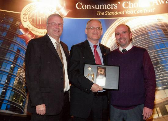 Consumer's Choice Award banquet in 2014